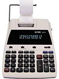 VCT12204 - Victor 1220-4 Two-Color Tax Key Printing Calculator