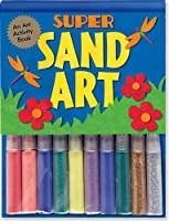 Super Sand Art [With 10 Sand And Glitter Vials 10