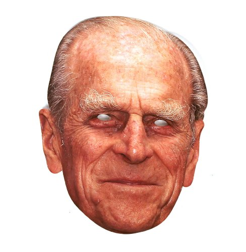 (Prince Phillip The Duke Of Edinburgh Cardboard Party Mask)