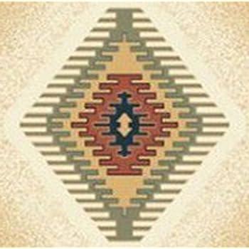Furnish my Place 3 Piece Southwestern Contemporary Geometric Area Rug Cream Set (5 x 8) (2 x 6) (2 x 3) 27097, Tucson Cream
