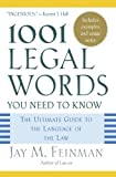 img - for 1001 Legal Words You Need to Know: The Ultimate Guide to the Language of the Law (2005-04-28) book / textbook / text book