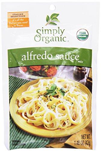 Simply Organic, Pasta Sauce Mix, Alfredo, 1.48 (Simply Organic Alfredo)