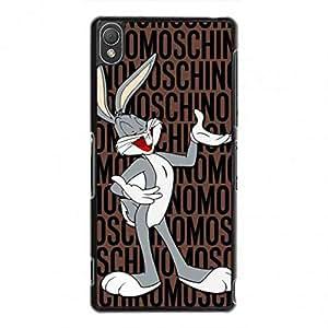 Classic Key Moschino Logo Phone Funda,Sony Xperia Z3 Phone Funda,Moschino Cover Phone Funda