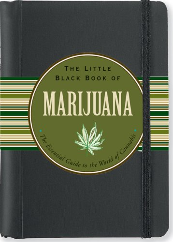 51ctO%2BjRpWL The Little Black Book of Marijuana: The Essential Guide to the World of Cannabis (Little Black Books (Peter Pauper Hardcover))