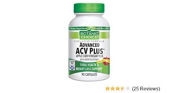 Amazon Com Botanic Choice Advanced Apple Cider Vinegar Plus With