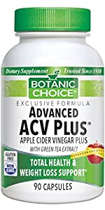Botanic Choice Advanced Acv Plus with Green Tea, 90 Capsules