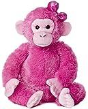 "Aurora World Girlz Nation Pink Chimp Plush, 12"""