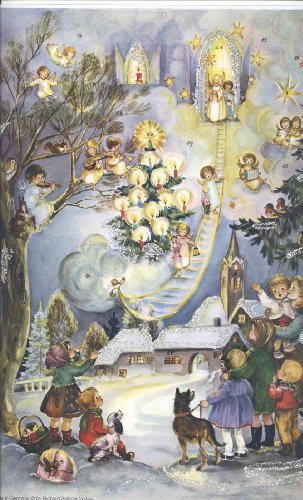 - Heavenly Angels Advent Calendar Adventskalender Calendrier de Noel