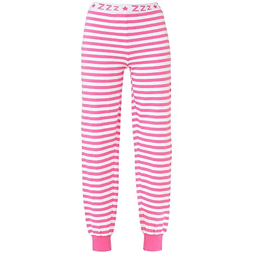 Love to Sleep Long Leg Striped Jogger Style Women s Pyjama Bottoms  Loungewear  Amazon.co.uk  Clothing d9fb28b5e