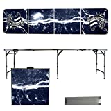 NCAA Western Washington University Vikings Lightning Version Folding Tailgate Table, 8'
