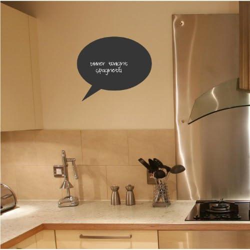 85%OFF Chalkboard Speech Bubbles Set of 3 wall decal vinyl sticker
