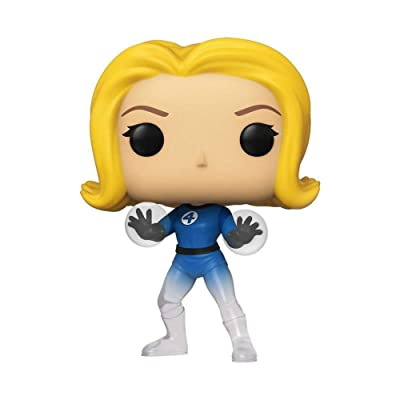 Funko Pop! Marvel: Fantastic Four - Invisible Girl- Exclusive: Toys & Games