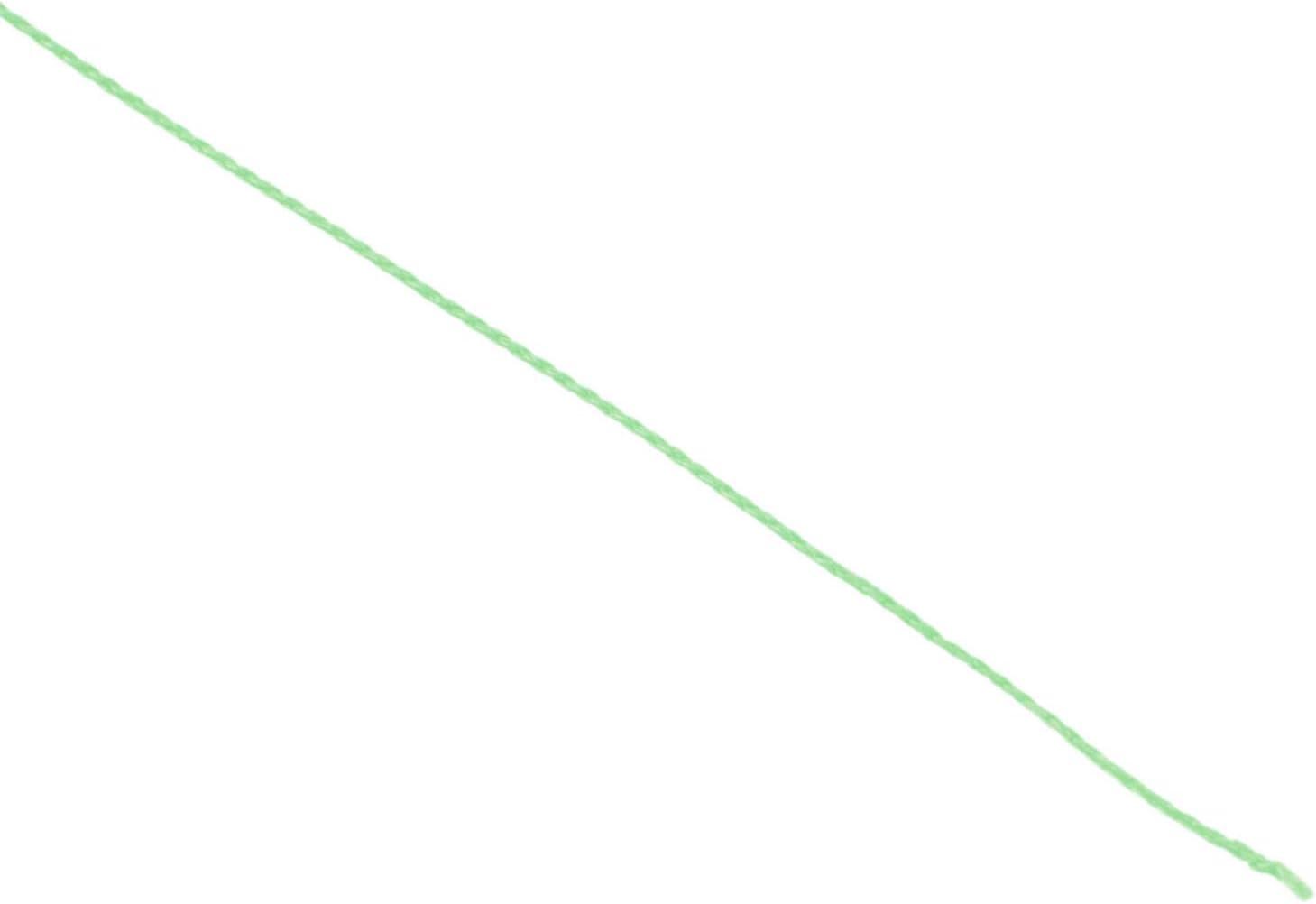 Light Green Andifany 500M 50LB Colorful 4 Strands Multifilament PE Braid Fishing Line