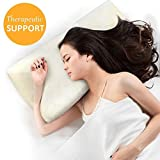 Contour Memory Foam Pillow, Little Tree Ergonomic Support Pillow with...