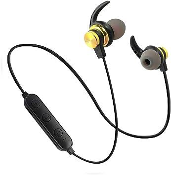 Happon Auriculares de Nuca Bluetooth Diadema Inalambricos para TV PC, Magnético Auriculares Inalámbricos con Micrófono, Sin retardo, Compatibles con Móviles Phone música & Llamadas: Amazon.es: Electrónica