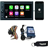 Sony XAV-AX200 CD/DVD Receiver with Bluetooth, SiriusXM, Apple CarPlay, AndroidAuto and Steering Wheel Control Interface