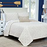Southern Tide Home Skipjack Quilt, Full/Queen, Stone