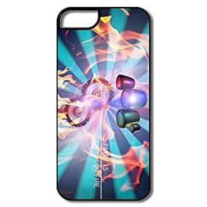 Funny PARTY FIRE Case For IPhone 5/5s by lolosakes