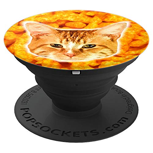 Shane Dawson 260011 Cheeto Cat PopSockets Stand for Smartphones & Tablets - PopSockets Grip and Stand for Phones and Tablets