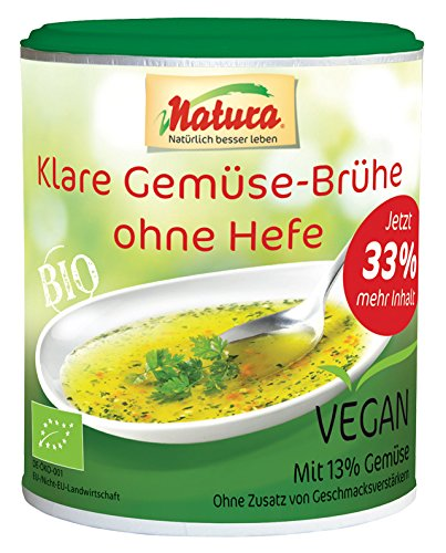 Bio Klare Gemüse-Brühe ohne Hefe (200 g)