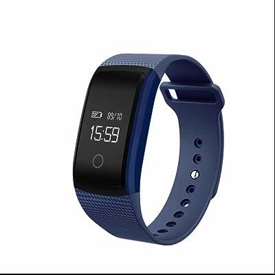 Bracelet Connecté,Tracker Activité Sommeil Montre Connecté Femme Elégant Fitness Tracker avec Podomètre, Calorie, Sommeil, Alarm et Notification Appel & SMS/SNS Bracelet Fitness pour iPh