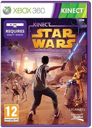 Microsoft Kinect Star Wars, Xbox 360, PAL, DVD, DEU - Juego (Xbox 360, PAL, DVD, DEU, Xbox 360): Amazon.es: Videojuegos