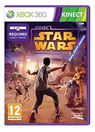 Microsoft Kinect Star Wars Xbox 360 Pal Dvd Deu Juego Xbox