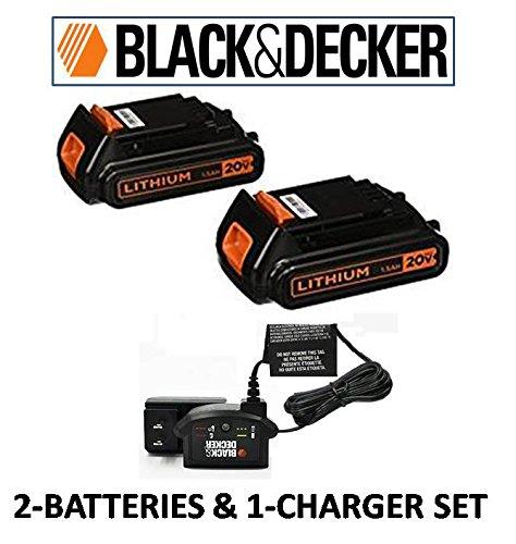 black and decker 19v - 2