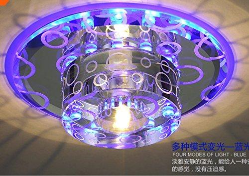 Illuminazione Da Soffitto Per Ufficio : Clg fly soffitto color cristallo led luce lampada corridoio