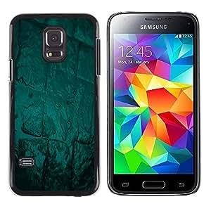 Be Good Phone Accessory // Dura Cáscara cubierta Protectora Caso Carcasa Funda de Protección para Samsung Galaxy S5 Mini, SM-G800, NOT S5 REGULAR! // Abstract Green Glow