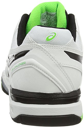 silver Green 0193 10 Asics Gel white De challenger flash Chaussures Tennis Homme Blanc wExgPzq7n6