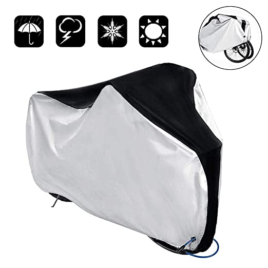 Osarke Funda Bicicleta Exterior Impermeable 420D Oxford Anti-UV ...