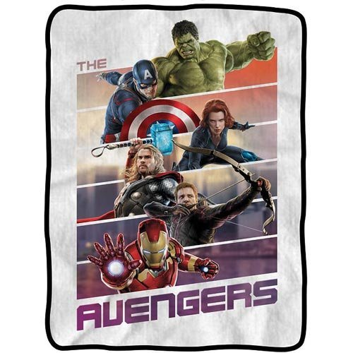 Marvel Avengers Movie Throw Blanket