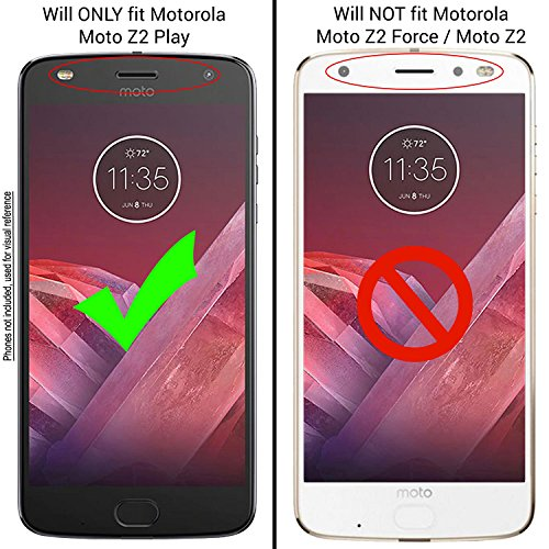 Unifix Back Rear Camera Glass Lens Replacement with Adhesive for Motorola Moto Z2 Play XT1710 (ALL CARRIERS) + Repair Tools by Unifix (Image #2)