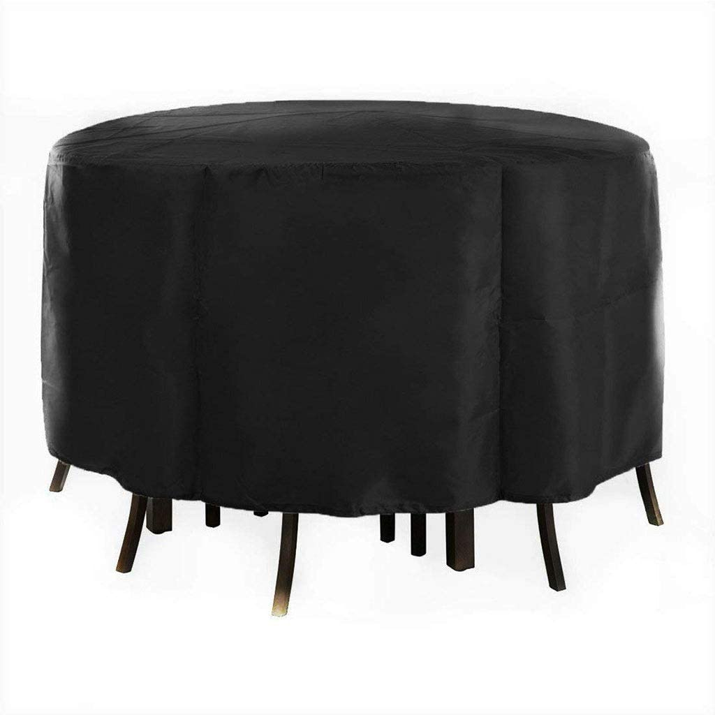 Garden Furniture Cover Color : Black, Size : 230x110cm Oxford Cloth Dustproof Waterproof UV Resistant Easy To Clean For Outdoor Patio Furniture