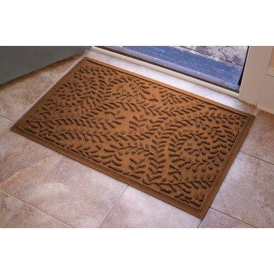 AquaShield Boxwood Mat Size: 2' x 3', Color: Dark Brown