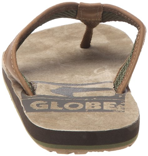 GlobeBase - Sandalias de dedo Unisex adulto Marrón - Braun (tobacco/choco)