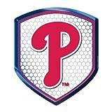 MLB Philadelphia Phillies Team Shield Automobile Reflector