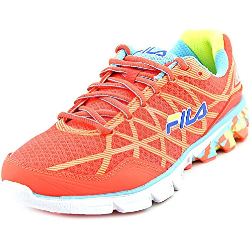 Fila Fish Coral Safety Track Shoes Fiery Women's Running Dimension Energized Yellow 2 Blue 66Zrq1wH
