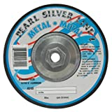 Pearl Silverline 9'' x 1/4'' x 5/8''-11 Depressed Center Grinding Wheel (Pack of 10)