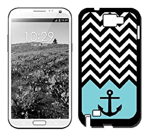 Anchor Aqua Chevron Galaxy Note 3 Case Fits Galaxy Note 3