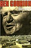 Mémoires : Israël avant Israël de David Ben Gourion ( 29 octobre 1974 )