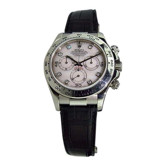 Rolex Daytona 116519 - Reloj automático, diseño de Hombre: Rolex: Amazon.es: Relojes