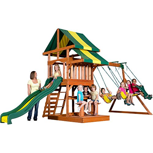 Backyard Discovery Independence All Cedar Wood Playset Sw...