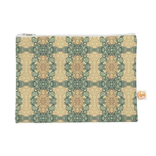 Kess eigene 12,5x 21,6cm mydeas Fancy Damast Antik Alles Tasche–Braun/Blaugrün