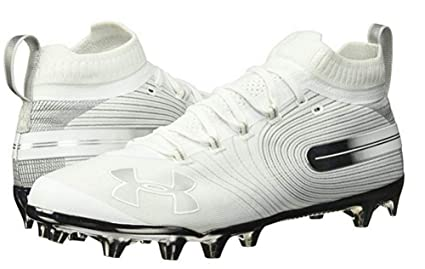 660be160b9bd Image Unavailable. Image not available for. Color: Under Armour UA Men's  Spotlight Mc Lacrosse White ...
