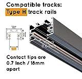 J.LUMI RAC6001 Track Light Rail L-Shape