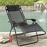Kawachi Zero Gravity Relax Recliner Folding Chair (Multicolor, 111 Cm X 12 Cm X 62 Cm)