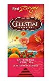 Celestial Seasonings Herbal Tea, Red Zinger, 25 Count (Pack of 6)