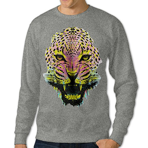 AcFun Men's The Tribal Panther Crewneck Sweater Size XL - International Shops Denver Airport